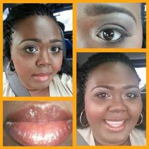 Liner, lashes, & lips for date night