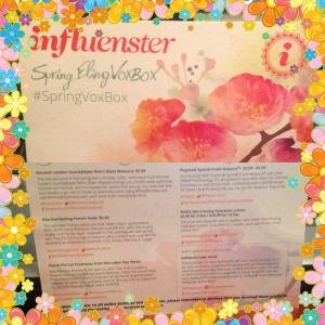 Influenster Spring Box Nox