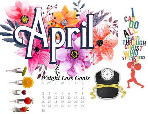 April Weight Loss 2