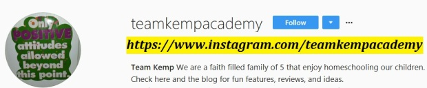 TeamKempAcademy Instagram