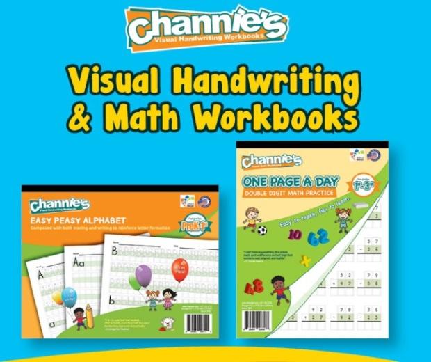 Channies visual handwriting